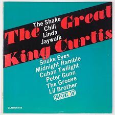 KING CURTIS: The Great CLARION ORIG Vinyl LP Soul Jazz R&B Clean