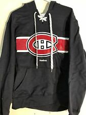 REEBOK Pullover Hoodie NHL Jersey Montreal Canadiens P.K. Subban Navy sz M