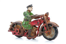 Cast Iron Motocycle Patrol - Vintage Toy