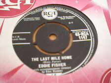 EDDIE FISHER - THE LAST MILE HOME / I'D SAIL A THOUSAND SEAS