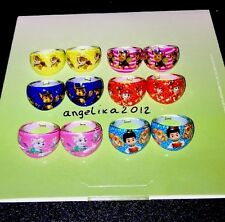 12 X PAW PATROL Rings Birthday Party Bag Fillers,Figure Sky Chase Rubble,Rider 4