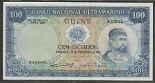 Portuguese Guinea P-45 100 Escudos 1971 Unc