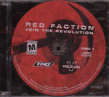 RED FACTION Join the Revolution Original PC Game NEW!!!