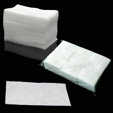200x Wipes New Clean Paper Cotton Pads Nail Polish Remover Make-up Nail Art