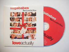 SUGABABES : TOO LOST IN YOU ♦ CD SINGLE PORT GRATUIT ♦
