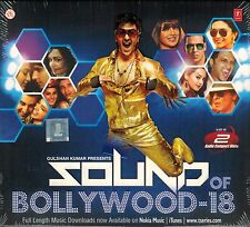 SOUND OF BOLLYWOOD 18 (AASHIQUI 2, CHENNAI EXPRESS) 2 CD SET - FREE POST