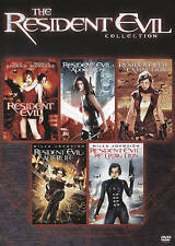 Resident Evil Collection 5-films DVD Brand New