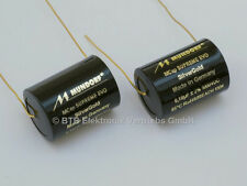New Version – 1 Pair 0,1µF-1000V MCap Supreme EVO Silver-Gold film capacitor