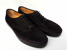 BNIB Paul Smith Suede Jim Nero (Black) Skate-Style Derby Shoes (UK 8) RRP £420