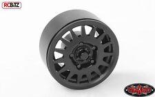"""Deceptive 1.9"""" Beadlock Wheels Black Anodized Multi Spoke RC4WD Z-W0240 Hex mt"""