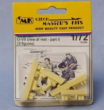 CMK CZECH MASTER'S KITS F72127 - U-VII CREW AT REST PART II 1/72 RESIN KIT