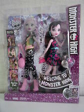 Welcome to Monster High-Monstrous rivals-moanica d 'Kay + DRACULAURA-NEUF & OVP