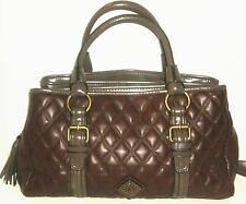 WOMEN'S BROWN 3 POCKET FASHION BAG SIZE M VERA WANG