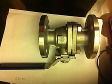 "316 Stainless Steel Valve 1"" Flanged Ball Valve 25mm Bore, Class 150, B203B CF8M"