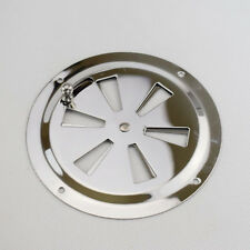"""1PC Round Butterfly Ventilator Vent Cover Stainless 5"""" Marine Boat Hardware"""