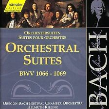 FREE SHIP Bach: Orchestral Suites SEALED DOUBLE CD Helmuth Rilling CHAMBER MUSIC