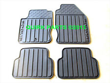 2000-2007 Ford Focus All Weather Floor Mats BLACK Rubber Vinyl OEM NEW Genuine