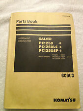 #PC1250-8, LC-8 and SP-8 Komatsu Parts Book