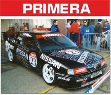 NISSAN PRIMERA BTCC WINDSCREEN BANNER SUNSTRIP STICKER DECAL ALL COLOURS