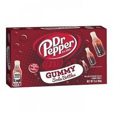 Kenny's Dr Pepper Flavour Gummy Bottles - American Sweets - 85g