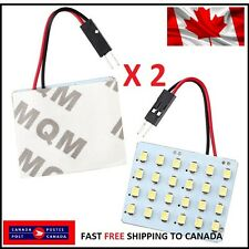 T10 24 SMD/Festoon White LED Car Interior Panel Lights Dome Lamp Bulb Light 4W