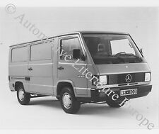 1988 MERCEDES-BENZ MB 100 PRESSEBILD PRESS FACTORY PICTURE WERKFOTO ORIGINAL