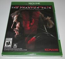Metal Gear Solid V: Phantom Pain for Xbox One Brand New! Factory Sealed!