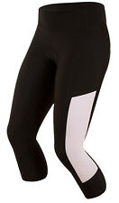 Pearl Izumi 2017 Women's Escape Sugar 3/4 Cycling Tights Black/White XS