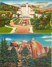USA COLORADO twosided printing NO postcard Broadmoor Hotel Devil Head(S-L XX282)