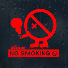 Please No Smoking Sign Decal Vinyl Sticker Shops Pubs Cafes Hotels Bars Offices