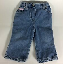 Calvin Klein Jeans Baby Girl Denim Pants Jeans Size 0-6 Months