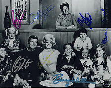 BRADY BUNCH CAST AUTOGRAPH SIGNED PP PHOTO POSTER