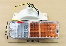 Front Bumper Indicator Turn Signal Lights For Mazda B2200 M1300 M1400 Pickup