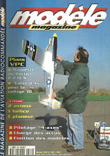 MODELE MAG N°569 PLAN : POTTIER P-230 S / CARRE D'AS / PILOTAGE 4 AXES / HELICO