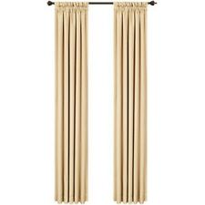 Nicetown Home Fashion Thermal Blackout Rod Pocket Curtains 42x84 1 pair Beige