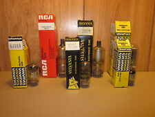 Lot of Sylvania & RCA Electron Tubes- 6CE3, 6JU8A, 6EH7,6HA5,6BS3A,3BW2-READ ALL