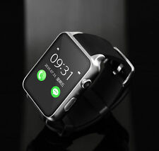 Waterproof GT88 NFC Bluetooth Smart Watch Phone Mate For iphone Android Silver.