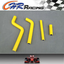 silicone radiator hose for YAMAHA YZ 125/ YZ250 1996-2001 1997 1998 1999 YELLOW