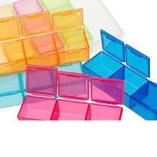 Weekly  Pill Box Medicine Medical Drug Case Caddy Storage Organiser Holder WB
