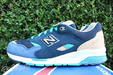NEW BALANCE 1600 SZ 10 SOCIAL STATUS WINTER IN HAMPTONS BLUE GREEN CM1600SS