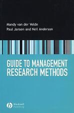 Guide to Management Research Methods-ExLibrary