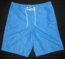 MENS HOLLISTER BLUE DUDES SWIM BOARD SHORTS SIZE S