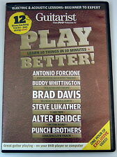 Guitarist the DVD Volume IV Guitar Tuition Music U