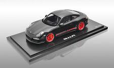 Porsche 911 R - Schwar/Rot Modellauto 1:18 Limitiert auf 500 Stück **WAX02100027