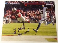 Ty Montgomery Signed 8x10 Football Photo Stanford W/ COA & Photo Proof