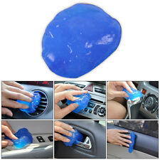 Blue Car Clean Glue Gum Gel Cleaning Air Outlet Vent Dashboard Interior Cleaner
