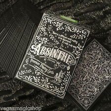 Absinthe V2 Deck Playing Cards Poker Size USPCC Custom Limited Edition Sealed
