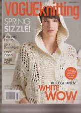 VOGUE KNITTING MAGAZINE SPRING/SUMMER 2011.