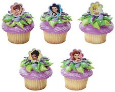 Cake Decorating Cupcake Toppers Rings - Disney Fairies Friend Twist w Tinkerbell