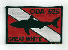 5TH SPECIAL FORCES GREAT WHITE HAT PATCH SHARKMEN US ARMY DIVER PIN UP SHARK